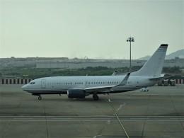 toyokoさんが、マカオ国際空港で撮影したケイマン諸島企業所有 737-7JB BBJの航空フォト(飛行機 写真・画像)