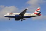 NANASE UNITED®さんが、ロンドン・ヒースロー空港で撮影したブリティッシュ・エアウェイズ A319-131の航空フォト(写真)