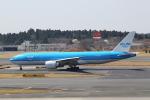 prado120さんが、成田国際空港で撮影したKLMオランダ航空 777-206/ERの航空フォト(写真)