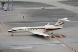 KAZKAZさんが、羽田空港で撮影したABSジェッツ G-V-SP Gulfstream G550の航空フォト(飛行機 写真・画像)