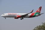 masa707さんが、チャトラパティー・シヴァージー国際空港で撮影したケニア航空 737-8HXの航空フォト(写真)