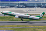 Chofu Spotter Ariaさんが、羽田空港で撮影したエバー航空 A330-302の航空フォト(写真)