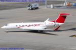 Chofu Spotter Ariaさんが、羽田空港で撮影した個人 G650 (G-VI)の航空フォト(飛行機 写真・画像)