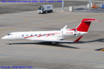 Chofu Spotter Ariaさんが、羽田空港で撮影した個人 Gulfstream G650 (G-VI)の航空フォト(飛行機 写真・画像)