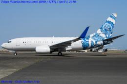 Chofu Spotter Ariaさんが、羽田空港で撮影したBBJ One 737-7CJ BBJの航空フォト(写真)