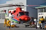 けんちゃんさんが、栃木ヘリポートで撮影した栃木県消防防災航空隊 412EPの航空フォト(写真)