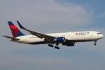 セブンさんが、成田国際空港で撮影したデルタ航空 767-324/ERの航空フォト(飛行機 写真・画像)