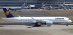 セブンさんが、羽田空港で撮影したルフトハンザドイツ航空 A350-941の航空フォト(飛行機 写真・画像)