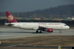 xingyeさんが、鄭州新鄭国際空港で撮影した吉祥航空 A320-214の航空フォト(飛行機 写真・画像)