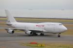 じゃりんこさんが、中部国際空港で撮影したカリッタ エア 747-4B5(BCF)の航空フォト(写真)