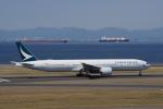 yabyanさんが、中部国際空港で撮影したキャセイパシフィック航空 777-367/ERの航空フォト(飛行機 写真・画像)