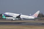 神宮寺ももさんが、高松空港で撮影したチャイナエアライン 737-809の航空フォト(写真)