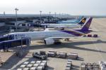 yabyanさんが、中部国際空港で撮影したタイ国際航空 777-3D7/ERの航空フォト(飛行機 写真・画像)