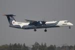 OMAさんが、成田国際空港で撮影したオーロラ DHC-8-402Q Dash 8の航空フォト(飛行機 写真・画像)
