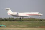 OMAさんが、成田国際空港で撮影したノエビア G500/G550 (G-V)の航空フォト(飛行機 写真・画像)