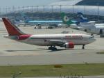 うすさんが、関西国際空港で撮影したエア・インディア A310-304の航空フォト(写真)
