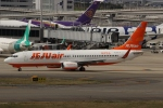 uhfxさんが、関西国際空港で撮影したチェジュ航空 737-8BKの航空フォト(飛行機 写真・画像)
