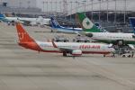 uhfxさんが、関西国際空港で撮影したチェジュ航空 737-86Nの航空フォト(飛行機 写真・画像)