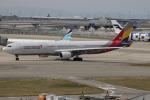 uhfxさんが、関西国際空港で撮影したアシアナ航空 A330-323Xの航空フォト(飛行機 写真・画像)
