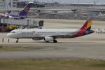uhfxさんが、関西国際空港で撮影したアシアナ航空 A321-231の航空フォト(飛行機 写真・画像)