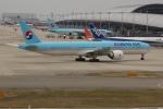 uhfxさんが、関西国際空港で撮影した大韓航空 777-3B5/ERの航空フォト(飛行機 写真・画像)