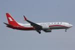 いっとくさんが、上海虹橋国際空港で撮影した上海航空 737-8-MAXの航空フォト(写真)