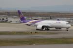 uhfxさんが、関西国際空港で撮影したタイ国際航空 A350-941の航空フォト(飛行機 写真・画像)
