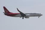 いっとくさんが、上海浦東国際空港で撮影した昆明航空 737-87Lの航空フォト(写真)