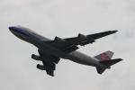 uhfxさんが、関西国際空港で撮影したチャイナエアライン 747-409F/SCDの航空フォト(飛行機 写真・画像)