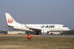 武彩航空公司(むさいえあ)さんが、山形空港で撮影したジェイ・エア ERJ-170-100 (ERJ-170STD)の航空フォト(写真)