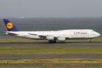 たみぃさんが、羽田空港で撮影したルフトハンザドイツ航空 747-830の航空フォト(写真)