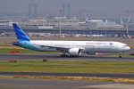 tkosadaさんが、羽田空港で撮影したガルーダ・インドネシア航空 777-3U3/ERの航空フォト(写真)