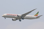 安芸あすかさんが、スワンナプーム国際空港で撮影したエチオピア航空 787-9の航空フォト(写真)