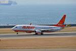 鈴鹿@風さんが、中部国際空港で撮影したチェジュ航空 737-8ASの航空フォト(写真)
