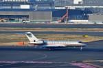 T.Sazenさんが、羽田空港で撮影したビスタジェット BD-700-1A10 Global 6000の航空フォト(飛行機 写真・画像)