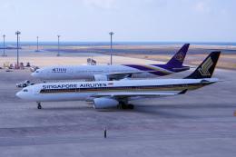 yabyanさんが、中部国際空港で撮影したシンガポール航空 A330-343Xの航空フォト(写真)