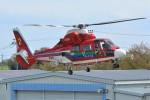 デルタおA330さんが、ホンダエアポートで撮影した埼玉県防災航空隊 AS365N3 Dauphin 2の航空フォト(写真)