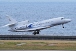 yabyanさんが、中部国際空港で撮影したプライベートエア Falcon 7Xの航空フォト(飛行機 写真・画像)