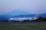 prado120さんが、静岡空港で撮影したチャイナエアライン 737-8MAの航空フォト(写真)