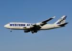 じーく。さんが、成田国際空港で撮影したウエスタン・グローバル・エアラインズ 747-446(BCF)の航空フォト(飛行機 写真・画像)