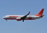 じーく。さんが、成田国際空港で撮影したチェジュ航空 737-8ASの航空フォト(飛行機 写真・画像)