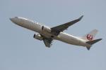 uhfxさんが、関西国際空港で撮影した日本航空 737-846の航空フォト(写真)