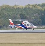 ザキヤマさんが、熊本空港で撮影した熊本県防災消防航空隊 AS365N3 Dauphin 2の航空フォト(写真)