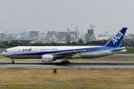 眠たいさんが、伊丹空港で撮影した全日空 777-281の航空フォト(写真)