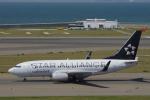 yabyanさんが、中部国際空港で撮影したコンチネンタル航空 737-724の航空フォト(飛行機 写真・画像)