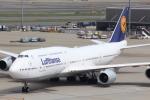 NISSY(NSY)さんが、羽田空港で撮影したルフトハンザドイツ航空 747-830の航空フォト(写真)