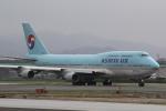 幹ポタさんが、福岡空港で撮影した大韓航空 747-4B5の航空フォト(写真)