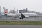 幹ポタさんが、福岡空港で撮影した日本トランスオーシャン航空 737-8Q3の航空フォト(写真)