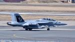 ららぞうさんが、三沢飛行場で撮影したアメリカ海軍 EA-18G Growlerの航空フォト(写真)