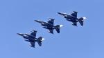 ららぞうさんが、三沢飛行場で撮影したアメリカ空軍 F-16CM-50-CF Fighting Falconの航空フォト(写真)